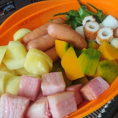 dチーズフォンデュ_野菜