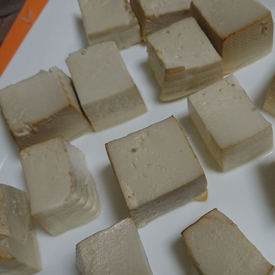 豆腐の燻製_完成